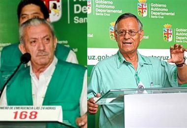 Urenda y Tórrez se encuentran internados a causa del Covid-19. Foto. Internet