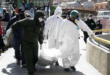 Las proyecciones nacionales estiman que hasta fines de agosto se registren unos 130.000 casos de coronavirus en el país. Foto: APG Noticias