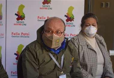 El director del Sedes La Paz I archivo.