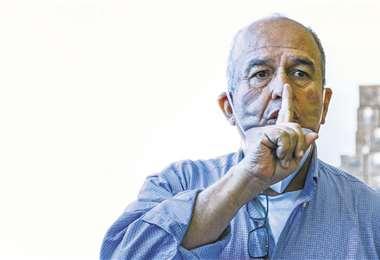 Arturo Murillo, ministro de Gobierno/Foto: APG Noticias