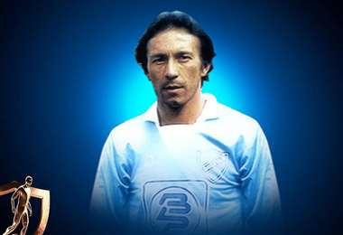 Vladimir Soria es considerado el máximo ídolo celeste. Foto: Club Bolívar