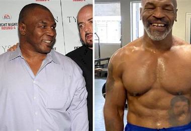 El cambio físico de Mike Tyson