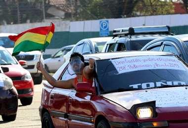 Para este 24 de julio habrá una nueva movilización en la capital cruceña. Foto: Jorge Gutiérrez
