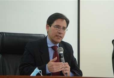 Salvador Romero, presidente del TSE.