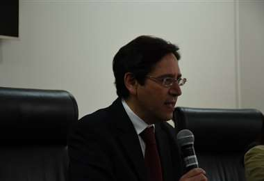 El presidente del TSE, Salvador Romero. Foto: TSE