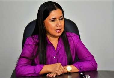Juana Borja, decana de la Facultad de Ciencias Económicas y Empresariales