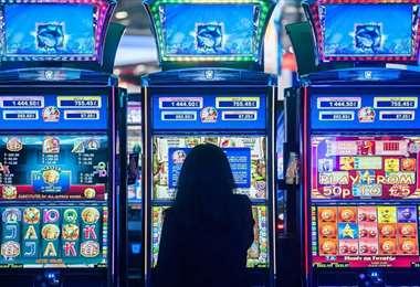 Imagen referencial de un casino. Foto Internet