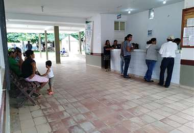 Ingreso del hospital municipal de San Borja/FotoBtv