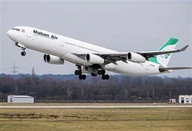 El avión cubría la ruta Teherán-Beirut. Foto Internet