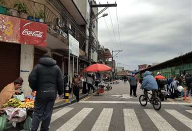 Las calles Campero y Quijarro son las más movidas