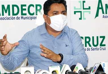 Moisés Salces, presidente de la Asociación de los Municipios de Santa Cruz (Amdecruz)