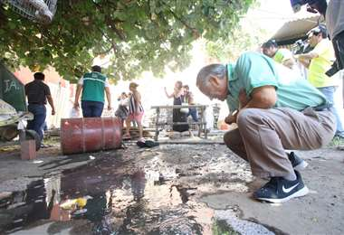 Roberto Tórrez comandó la lucha a otras epidemias como la del dengue. Foto: EL DEBER