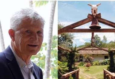 Ronald Larsen falleció el jueve 23, su primera adquisición fue el predio Caraparicito (Foto: Familia Larsen y EL DEBER)