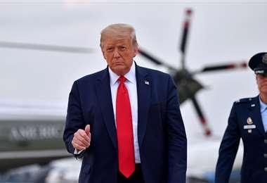El presidente de EEUU insiste en el desconfinamiento. Foto AFP