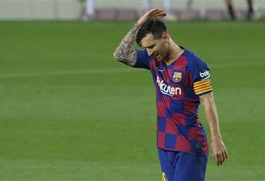 Lionel Messi es un referente del Barcelona y del mundo. Foto: AFP