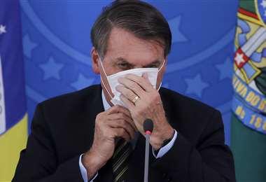 Bolsonaro demandado ante la CPI. Foto AFP