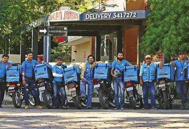 La empresa también dispone de su logística, tiene 1.300 repartidores a escala nacional