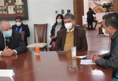 A la cita convocada por el Gobierno no asistieron los legisladores del MAS /Foto: ABI