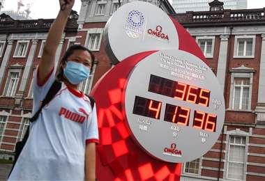 Los Juegos Olímpicos Tokio 2020 fueron postergados por el coronavirus. Foto: AFP
