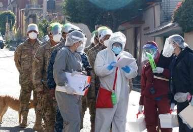 Bolivia registra hoy más de 70 mil casos de coronavirus. Foto: APG Noticias