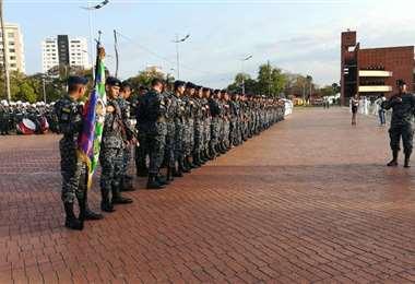 Por lo general, el Ejercito y las instituciones rinden homenaje a Bolivia por el 6 de agosto con un desfile, este año será la excepción