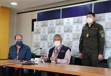 El nuevo presidente de la Aduana dijo que no desvinculará a ningún colaborador /Foto: Aduana Nacional