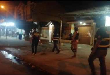Guardia Municipal recorre Cumavi antes de los indicentes