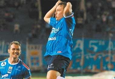 Limberg Gutiérrez formó parte del glorioso equipo celeste que se logró el bicampeonato en 1998 y 1999. Foto: internet