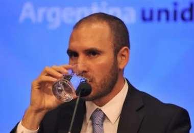 Martín Guzmán, ministro de Economía. Foto Internet