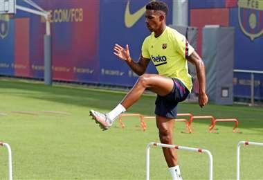 Ousmane Dembélé, extremo del Barcelona. Foto: FC Barcelona