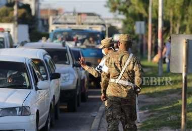 Los operativos se realizan a diario de manera conjunta con el Ejército. Foto: Jorge Gutiérrez