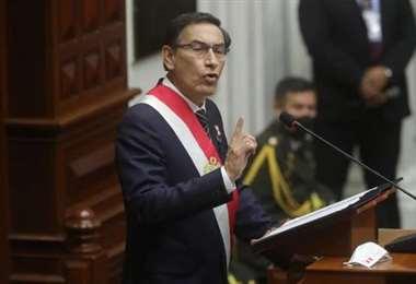El mandatario peruano. Foto La República