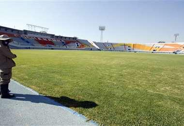 Así luce el estadio Félix Capriles de Cochabamba. Foto: APG Noticias