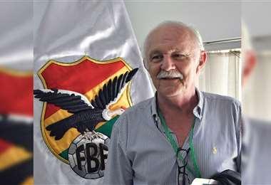Marco Peredo, expresidente de la desaparecida Liga y de la FBF. Foto: Archivo/EL DEBER