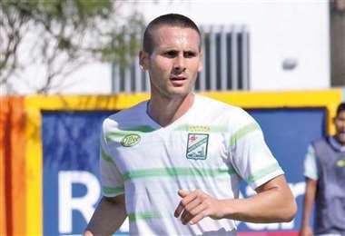 Norberto Palmieri, jugador argentino de Oriente Petrolero. Foto: internet