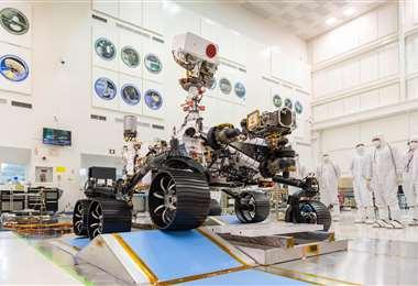 El Perseverance se va a Marte. Foto Internet