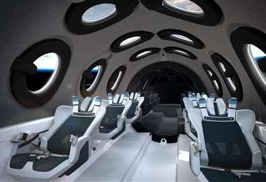 SpaceShipTwo es el nombre que recibe la nave espacial que están diseñando Virgin Galactic