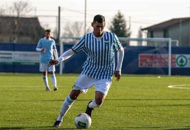 Jaumé Cuellar, futbolista boliviano de 18 años que juega en el Spal de Italia. Foto: internet