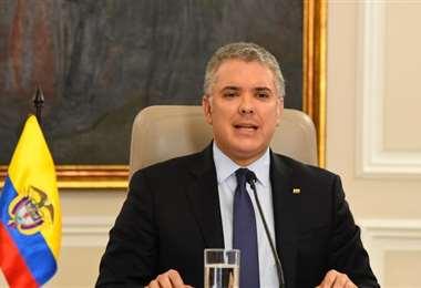 El mandatario colombiano. Foto Presidencia