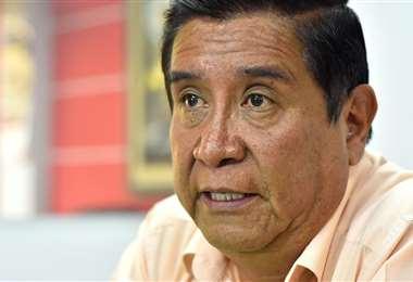 César Salinas, presidente de la Federación Boliviana de Fútbol (FBF). Foto: internet