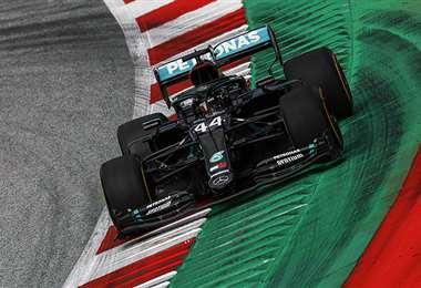 Hamilton dominó los ensayos de este viernes. Foto: AFP