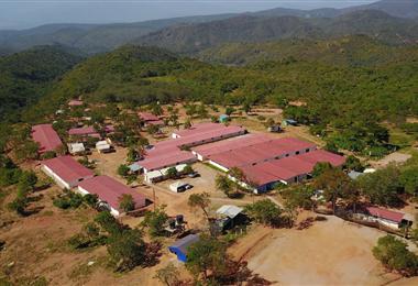 Uno de los lugares donde se encuentran los exguerrilleros colombianos. Foto Internet