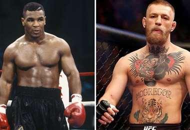 Tyson y McGregor son amigos, pero podrían ser protagonista de un futuro combate. Foto: internet