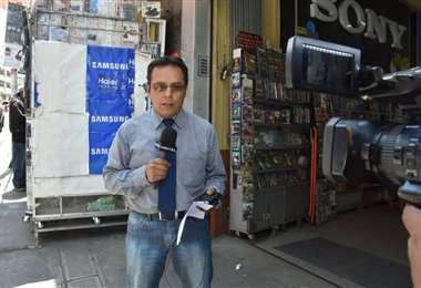 El periodista Juan Flores Bautista. Foto: Internet