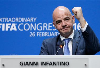 Infantino y la FIFA lanzan más ayuda para el fútbol