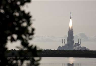 El vehículo espacial recorrerá más de 500 millones de kilómetros hasta aterrizar en Marte el próximo 18 de febrero. Foto: AFP