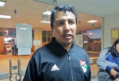 Víctor Hugo Chambi preside a los árbitros nacionales