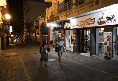 Poca gente en la isla de Ibiza. La recesión se nota en Europa. Foto AFP