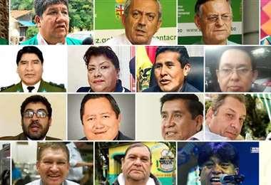 Algunos de los rostros de los fallecidosAlgunos de los rostros de los fallecidos