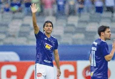 Marcelo Martins no pudo el miércoles ayudar a que su equipo avance en el campeonato MIneiro. Foto: internet
